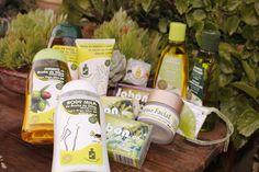 Cosmética Olivo para toda la familia, con aceite de oliva virgen extra como ingrediente estrella. Sin parabenos. Oro Líquido para la piel y el cabello
