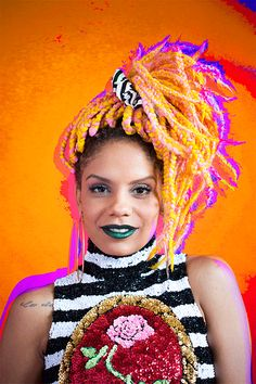 Find Out Why Brazilian Blogger Maga Moura Is Addicted To Color | Galore