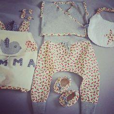Ensemble bébé couture