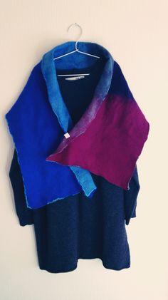 Felted scarf