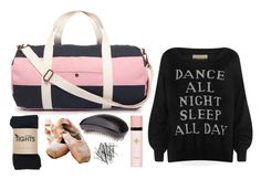 """""""What's in my dancing bag?"""" by foreverbeachgirl ❤ liked on Polyvore featuring Jack Wills, H&M, Tangle Teezer, Yves Saint Laurent, Wildfox, dance and ballet"""