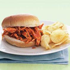 Barbecue Chicken Sandwiches | MyRecipes.com
