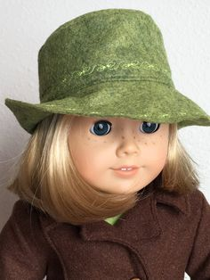 Hey, I found this really awesome Etsy listing at https://www.etsy.com/listing/385714736/fedoras-for-18-american-girl-doll