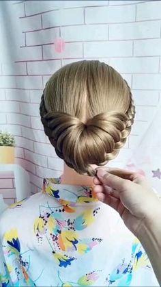 Hairdo For Long Hair, Easy Hairstyles For Long Hair, Girl Hairstyles, Braided Hairstyles, Wedding Hairstyles, Hair Tips Video, Hair Videos, Competition Hair, Hair Upstyles