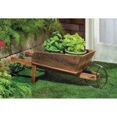 Buy Country Flower Cart Planter at wholesale prices. We offer a large selection of cheap Wholesale Garden Planters. If you need Country Flower Cart Planter in bulk at a discount price then buy from WholesaleMart. Wheelbarrow Planter, Garden Planter Boxes, Wooden Garden Planters, Outdoor Planters, Flower Planters, Outdoor Decor, Barrel Planter, Rustic Outdoor, Rustic Wood
