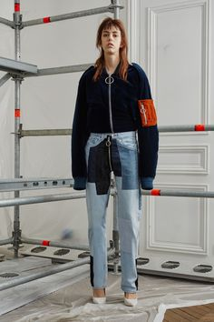 Off-White Pre-Fall 2016 Collection - Vogue Fall Fashion 2016, Fashion Week, High Fashion, Fashion Show, Estilo Denim, Mode Jeans, All Jeans, Vogue, Fashion Designer