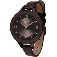 Relógio Feminino Analógico Euro Petrila EU2035TB/2M - Chocolate - euro