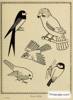 GREAT CRAZY QUILT AND EMBROIDERY RESOURCE. free hand embroidery pattern of birds
