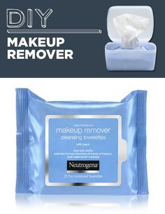 DIY Makeup Removing Wipes | 31 Household Products You'll Never Have To Buy Again
