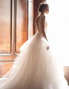 daalarna 2015 pearl bridal collection ethereal ball gown wedding dress -- Top 30 Most Popular Wedding Dresses on Wedding Inspirasi in 2014 2015 Wedding Dresses, Wedding 2015, Wedding Attire, Wedding Trends, Bridal Dresses, Wedding Styles, Wedding Gowns, Wedding Robe, Tulle Wedding