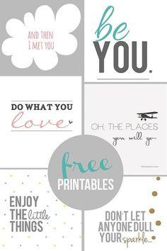 Home Coming: Inspirational Free Printables Free Printables #free