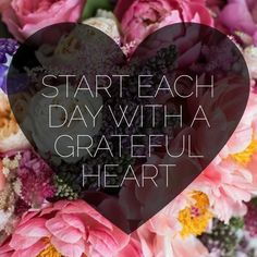 Start each day with a #grateful heart. #mindfulness is #happiness  #happysaturday have a nice weekend!