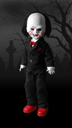 """LDD presents: SAW!  It's weird wanting to own such a """"creepy"""" doll....but how does one go about NOT wanting it? LOL"""