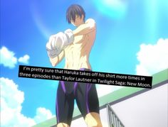 probably Free! THATs my HARUUUUU LOVE YOU PLEASE TAKE OFF YOUR SHIRT MORE OFTEN!!