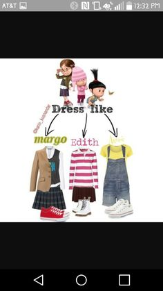 A fashion look from July 2013 featuring GANT tops, Dorothy Perkins t-shirts und MANGO blouses. Browse and shop related looks. Cute Group Halloween Costumes, Group Costumes, Halloween Outfits, Girl Costumes, Costume Ideas, Costumes Kids, Character Costumes, Halloween Ideas, Despicable Me Costume