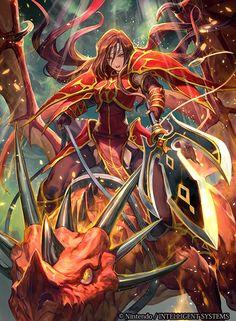 Ilustraciones completas - Altena - Artworks e imágenes - Galería Fire Emblem Wars Of Dragons