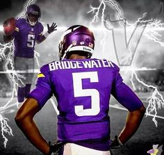 NFL Jerseys Nike - Minnesota Vikings - Teddy Bridgewater 2014 | NFL | Sports ...