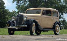 1935 Chevrolet Standard Two-Door Sedan