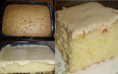 Granny's Old Fashioned Butter Cake with Butter Cream Frosting... http://grannysfavorites.wordpress.com/2014/06/13/grannys-old-fashioned-butter-cake-with-butter-cream-frosting/
