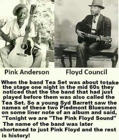 They are Pink Floyd because..