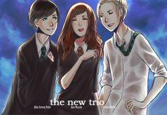 HP: new trio by anamoar.deviantart.com on @deviantART