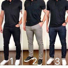 Business Casual Men - Best business casual outfits for men 25 Best Business Casual Outfits, Stylish Mens Outfits, Business Casual Men, Casual Summer Outfits, Business Attire, Mens Casual Dress Outfits, Polo Shirt Outfits, Polo Outfit, Blue Jeans Outfit Men