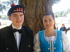 Where my etsy profits go, Highland Dancing! This is me and my son at a competition.