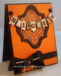 Kristi's Paper Creations: Halloween Wishes
