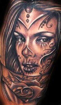 Image result for tattoos of beautiful faces