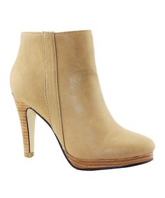 Take a look at this Natural Salinas Bootie on zulily today!
