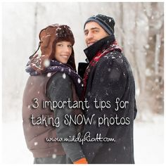 3 important tips for photographing in the snow!