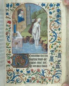 Not a Saint - but a Sinner! | Medieval Illumination