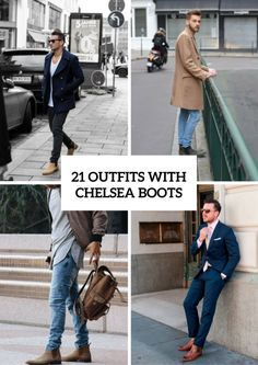 Cool Men Outfit Ideas With Chelsea Boots