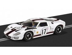 The Scalextric Ford GT40 - US Livery is a slot car from the Scalextric Rally and Road car range.