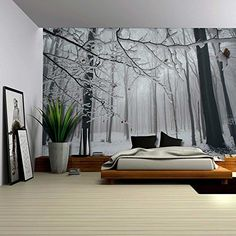 Wall26® - Close Up View of a Forest in the Winter Time - ... https://www.amazon.com/dp/B01BY44HMC/ref=cm_sw_r_pi_dp_x_2.a.xbZWE0V6W