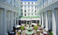 Opulent Hotel Atlantic Kempinski in Hamburg features heavily in Tomorrow Never Dies