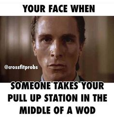 My face all the Time #crossfit #gymhumor