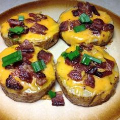 Try these cheesy bites as an appetizer or a fun Friday night dinner. Allrecipes.com