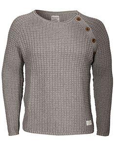 Brookland Knit - Cottonfield - Grå - Tröjor - Kläder man - NELLY.COM