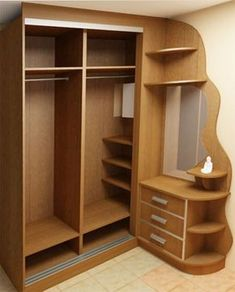 Super Diy Bedroom Wardrobe Ideas Cupboards Ideas - Image 21 of 22 Wardrobe Design Bedroom, Diy Wardrobe, Bedroom Furniture Design, Bedroom Wardrobe, Home Decor Furniture, Diy Bedroom, Wardrobe Ideas, Bedroom Corner, Corner Wardrobe