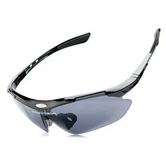 OUTERDO Anti-impact Cycling Sunglasses Unisex UV400 Bicycle Glasses with Sunglasses Case Bike Eyewear Outdoor Sports