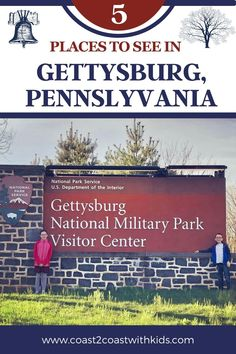 A city rich with history and filled with family friendly activities National Park Passport, National Parks, Road Trip Across America, Gettysburg National Military Park, Gettysburg Pennsylvania, Parks Department, Top Destinations, Park Service, Family Adventure