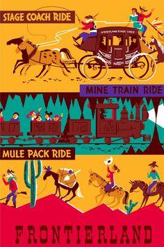Pack Mules Through Nature's Wonderland 1955