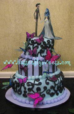 Corpse Bride Wedding cake - corpse-bride Photo
