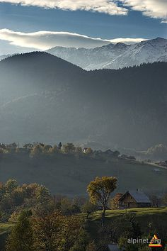Fall in Piatra Craiului Mountains, Romania