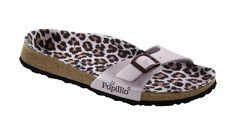 birkenstock papillio madrid sandals blue polkadot