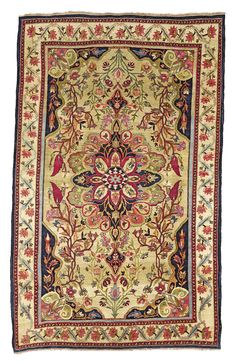 A BIDJAR RUG, WEST PERSIA approximately 215 by 134cm., 7ft., 4ft.5in. circa 1880