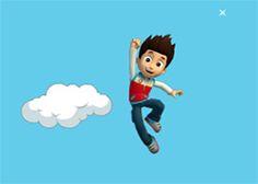 Juegos Gratis - Juego: Saltar Nubes - Jugar Juegos Online Infantiles de Patrulla de Cachorros Paw Patrol para Niños