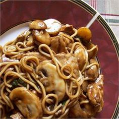 ... on Pinterest | Deep fried mushrooms, Cabbage soup and Chicken lo mein