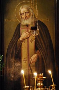 Saint Seraphim of Sarov Seraphim, Sarov, Catholic Art, Byzantine Art